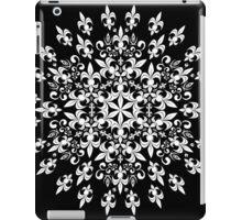 roue de lys (version blanc) iPad Case/Skin