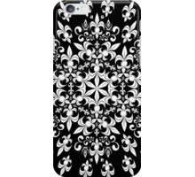 roue de lys (version blanc) iPhone Case/Skin