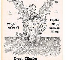 Great Cthulhu by Lyubomir Gizdov