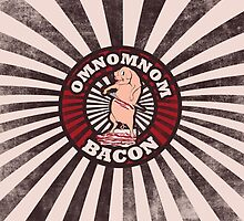 Yummy bacon by Boogiemonst