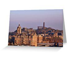 Edinburgh, Scotland - A Top-Class European City Greeting Card