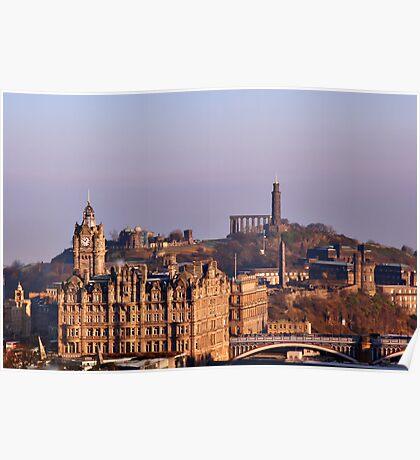 Edinburgh, Scotland - A Top-Class European City Poster