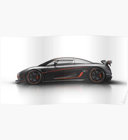 Koenigsegg Agera RS Poster