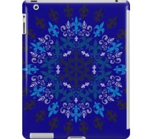 roue de lys (version bleu) iPad Case/Skin