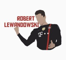 Robert Lewandowski - Minimalistic Print Kids Clothes