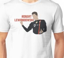 Robert Lewandowski - Minimalistic Print Unisex T-Shirt