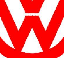 VW DEVIL LOGO Sticker