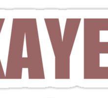 World's Okayest Teacher Sticker