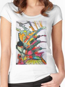 mess Women's Fitted Scoop T-Shirt