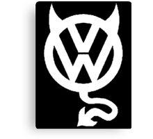 VW DEVIL LOGO Canvas Print