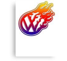 VW Flame Logo Canvas Print