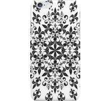 roue de lys (version noir) iPhone Case/Skin