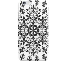 roue de lys (version noir) iPhone Case/Skin