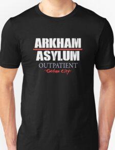 Arkham Asylum - Black T-Shirt
