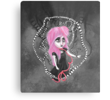Absent-mindedly getting lost in the dark Metal Print