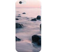 sunset at sea iPhone Case/Skin