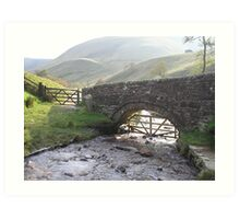 Edale, The Peak District Art Print
