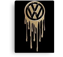 VW Bleeding Canvas Print