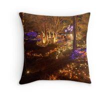 festival of lights , VanDusen botanical garden , Vancouver , Canada Throw Pillow