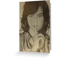 Camilla belle Drawing Greeting Card