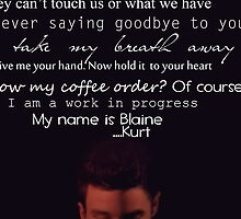 Quotes Klaine  by alessandranna