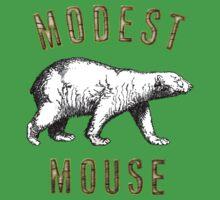Modest Mouse Bear Baby Tee