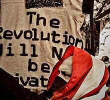 THE REVOLUTION WILL NOT BE PRIVATIZED (CARD) by Thomas Barker-Detwiler