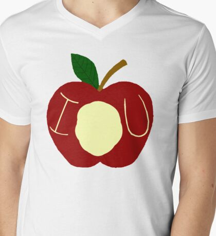 BBC Sherlock - Moriarty's Apple Mens V-Neck T-Shirt