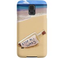 Message in the bottle Samsung Galaxy Case/Skin