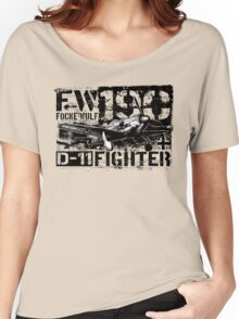 Fw 190 D-11 Women's Relaxed Fit T-Shirt