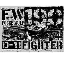 Fw 190 D-11 Photographic Print