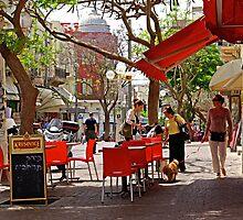 Morning in Tel Aviv by coralZ