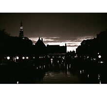 Leiden At Dusk I Photographic Print