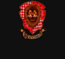 Lion Head with Red Shield Unisex T-Shirt