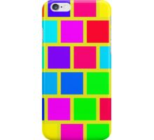 Colorful squares pattern iPhone Case/Skin