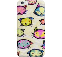 Kittens with Feelings iPhone Case/Skin
