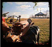 Tractor Photographic Print