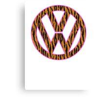 Animal Skin VW Canvas Print