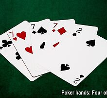 Poker Hands Calendar - Four Of A Kind by luckypixel
