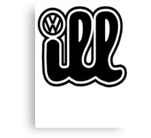 VW iLL Logo Canvas Print