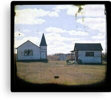 Tiny Church Canvas Print