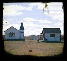 Tiny Church Photographic Print