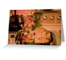 Head Chef Greeting Card