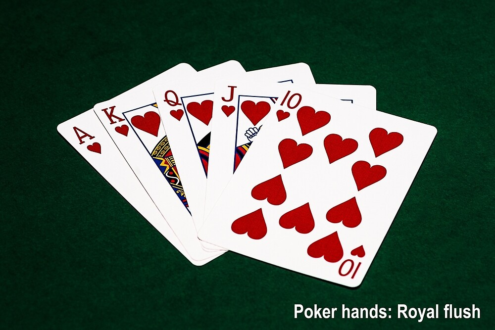 guts poker hand rankings printable