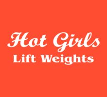 Hot girls lift Weight by mccdesign