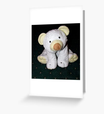 Scribbles The Polar Bear Greeting Card