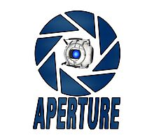 Portal 2 Aperture science Wheatly Photographic Print
