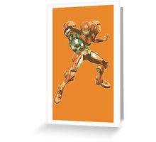 Samus Aran Greeting Card