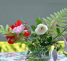 Table-Flowers by MissCellaneous