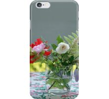 Table-Flowers iPhone Case/Skin